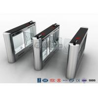 Buy cheap Anti - Collision Walk Through Metal Swing Barrier Gate Bus Station Card Reader product