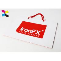 Buy cheap CMYK Color Offset Printing Custom Paper Bags , Promotional Paper Carrier Bags from wholesalers