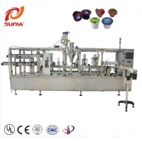 Buy cheap 100pcs/min K Cup Two Lanes 7.5KW Coffee Pod Filling Machine from wholesalers