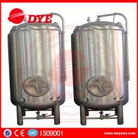 Buy cheap High Efficiency Small Bright Beer Tanks 2mm Thickness Easy To Operate from wholesalers