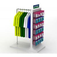Buy cheap Powder Coating Sports Display Shelves Retail Sock Displays Rack OEM / ODM Welcome from wholesalers
