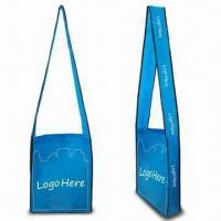 Buy cheap Nonwoven Shoulder Bag, Green Product, with Degradable Features from wholesalers
