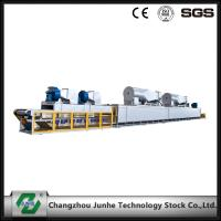 Double Combustion Curing Furnace For Zinc Flake Coating Silvery Color FGG1812
