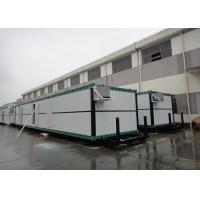 Buy cheap Easy Transport Steel Shipping Containers Refugee Camp Energy Efficient Prefab Homes from wholesalers