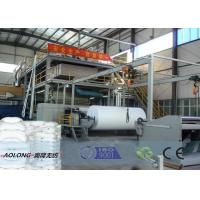 Buy cheap Customized SXS PP Spunbond Non Woven Fabric Making Machine 10-450m/min from wholesalers