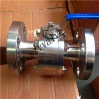 Buy cheap 2 PCS 150lb Forged Steel Flanged Ball Valve Ball Valve from wholesalers