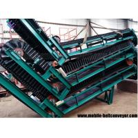 Buy cheap Large Loading Capacity Mobile Conveyor Belt System With Corrugated Sidewall from wholesalers