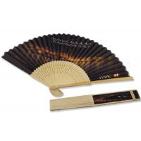 Buy cheap 21cm Portable Photo Hand Held Paper Fans Maldives Bank Advertisements from wholesalers