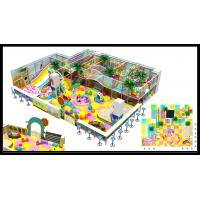 Buy cheap Popular Plastic School Gym Indoor Soft Playground with Big Slides for Kids from wholesalers