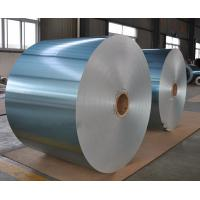 Buy cheap Hydrophilic Aluminum Heat Transfer Foil Hot Rolled Blue Color For Evaporator product