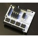Buy cheap Servo/Sensor Adaptor Shield for Arduino (14 x digital pins 6 x analog pins MPU6050 port XBee port NRF24L port I2C port ) from wholesalers
