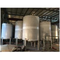 Buy cheap Stainless Steel LPG / Oxygen / Nitrogen Gas Storage Tank For Pharmaceutical Use product