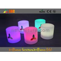 Buy cheap LED Round Bar Stools Glowing Furniture , Modern Bar Furniture from wholesalers