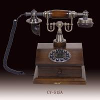 Buy cheap classic telephone, antique telephone,elegant and useful telephone,white color wooden telephone(CY-515) from wholesalers