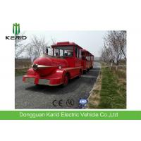 Buy cheap Diesel Power 42 Seats Small Trackless Train For Amusement Park Low Emission from wholesalers