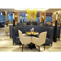 Buy cheap Genuine Leather Commercial Restaurant Furniture Large Size Environment - Friendly from wholesalers