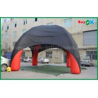 Buy cheap Red / Black Spider Inflatable Dome Tent 4 Legs With Oxford Cloth Fire Retardant from wholesalers