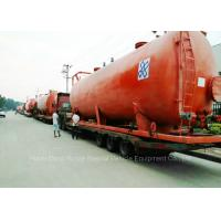 Buy cheap 80000Liters Hydrochloric Acid Storage Tank Skid Mounted For Storage / Transport from wholesalers