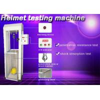 Buy cheap Safety Helmet Shock Absorption And Penetration Tester , Helmet Lateral Rigidity Tester from wholesalers