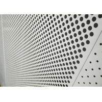 Buy cheap Decorative Perforated Aluminum Sheet 5005 For The Curtain Wall / Electric Conductor from wholesalers