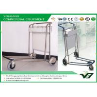 Buy cheap Three wheel airport baggage trolley / heavy duty luggage trolley for travel from wholesalers