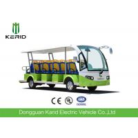Buy cheap 72V Low Speed Electric Sightseeing Car 14 Passengers Electric Personal Transport Vehicle from wholesalers
