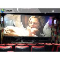 Buy cheap 3D Glasses Screen 4D Cinema System Dynamic Movie Theater Equipment product