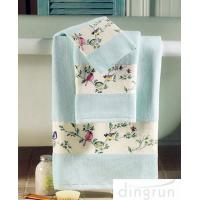 Buy cheap Premium Pure Cotton Hand Wash Towels For Home / Hotel / Kitchen 30*60cm from wholesalers