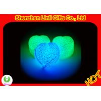 Buy cheap Hot Valentine pvc body heart Gifts led colour customize  from wholesalers