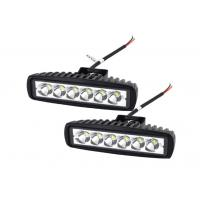 Buy cheap 6 inch 18W LED Work Light Epistar led work light ,12V 6500k led work light with spot/flood beam for trucks from wholesalers