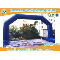 Buy cheap Dark Blue Inflatable Advertising Products , Inflatable Archway / Arch Door For Game from wholesalers