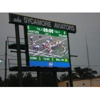 Buy cheap 110v / 220v Outdoor Full Color LED Display Screen P10 Weatherproof For Stadium / Square from wholesalers