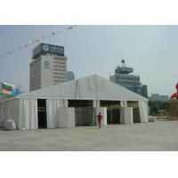 Buy cheap UV Resistance Wedding Canopy Tent , Large Commercial Event Tents Flame Resistant from wholesalers