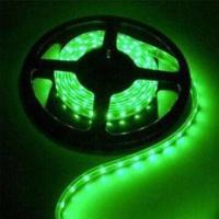Buy cheap 5050 SMD Flexible LED Strip with 120° Viewing Angle, 5V AC Voltage and 50,000-hour Lifespan product
