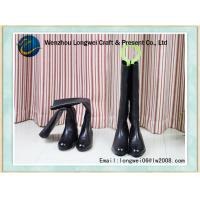 Buy cheap Anti fallen Plastic boot shoe stretcher with round handle 51cm x 8cm from wholesalers