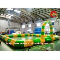 Buy cheap Square Inflatable Sports Games Large Outdoor Go Kart Car Race Track from wholesalers