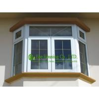 Buy cheap Energy Saving PVC Bay and bow Window For Residential Apartment,White Color and clear glass from wholesalers