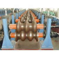 Buy cheap W Beam Highway Guardrail Roll Forming Machine 380V 3phase GCR15 Roller 18-20MPa from wholesalers