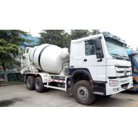 Buy cheap 8 Cubic Meter Used Concrete Mixer Truck SINOTRUK HOWO Brand 6X4 Drive Form from wholesalers