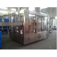 Buy cheap Sparkling Water Bottling Machine / Machinery / Line , Carbonation Soda Plants from wholesalers