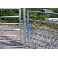 Buy cheap Galvanized Steel Movable Cow Corral Fence Panels For Rearing Calves from wholesalers