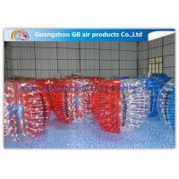 Buy cheap Beautiful Inflatable Bumper Ball Soft / Human Inflatable Bumper Bubble Balls product