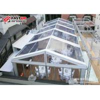 Buy cheap Commercial Grade Outdoor Frame Tent , Transparent / Clear Frame Tent No Poles Inside from wholesalers