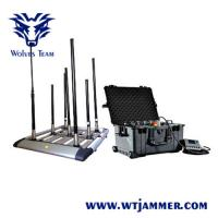 Buy cheap Multi - Band Mobile Phone Portable Signal Jammer Walky - Talky  Output Power Selectable from wholesalers