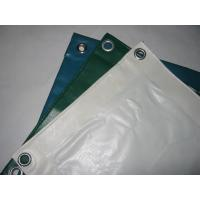 Buy cheap Anti - Mildew PVC Tarpaulin Fabric For Industry , Thick Heavy Duty Canvas Tarp  from wholesalers