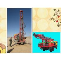 Buy cheap Truck mounted drilling rig in desert from wholesalers