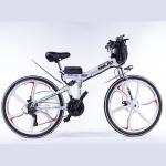 Buy cheap Hard Wearing Foldable Electric Bike , 350w 48 Volt Ebike Brushless Motor from wholesalers