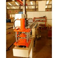 Buy cheap 75mm Roller Shutter Door Roll Forming Machine With Punched Hole Or Punched Slot from wholesalers