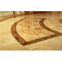 Buy cheap Custom Indoor Outdoor Polished Marble Floor Tile for walling paving hotel floor from wholesalers