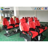 Buy cheap 6 Dof Mobile Theater Chair , 4d Cinema Custom Motion Control System from wholesalers